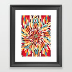 In Flower Framed Art Print