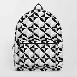 KALAIDASCOPE - BLACK, GREY AND WHITE Backpack