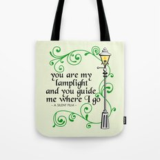 You Are My Lamplight (commission) Tote Bag
