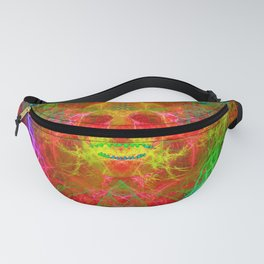 Electric Skull Fanny Pack