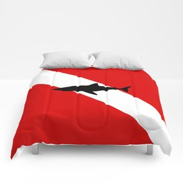Diving Flag: Shark Comforters