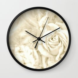 Rose breath Wall Clock