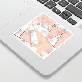 Marble Geometry 050 Sticker