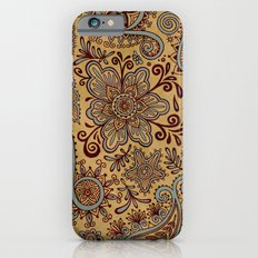 Cosmic Paisley Henna iPhone 6s Slim Case