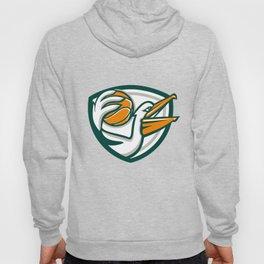 Pelican Dunking Basketball Crest Retro Hoody