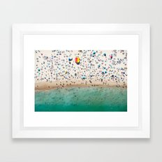 Bondi Rescue Framed Art Print