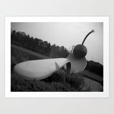 Spoon Bridge & Cherry Art Print