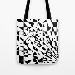 Fractured Structure Tote Bag