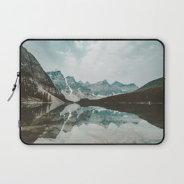 Moraine Lake Mountain Reflection Summer Laptop Sleeve