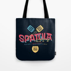 Spatula City! (open edition) Tote Bag