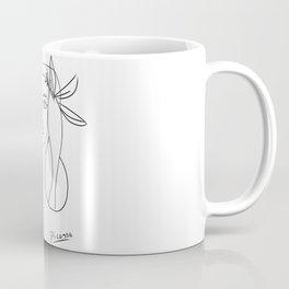 Picasso lady  Modern Sketch Picasso Art Modern Minimalist Coffee Mug