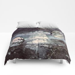 Double Moons Comforters