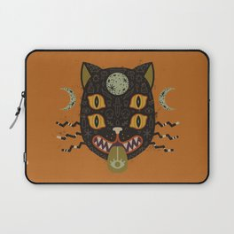 Spooky Cat Laptop Sleeve