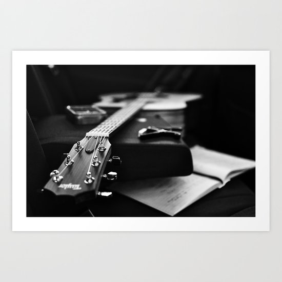 The V Sessions Art Print