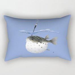 Take It Outside! (Colour) Rectangular Pillow
