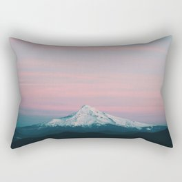Mount Hood III Rectangular Pillow