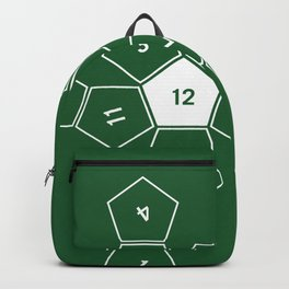 Green Unrolled D12 Backpack