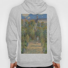 Claude Monet The Artist's Garden at Vétheuil 1880 Painting Hoody