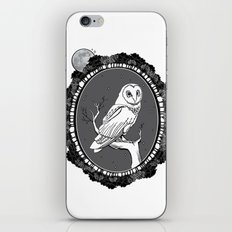 Night Owl Oval iPhone & iPod Skin