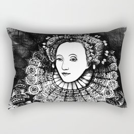 Queen Elizabeth I Portrait  Rectangular Pillow