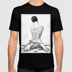asc 597 - Les amatrices III (Sketchwork) Black X-LARGE Mens Fitted Tee