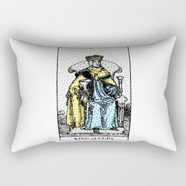 Modern Tarot Print - King Of Cups Rectangular Pillow