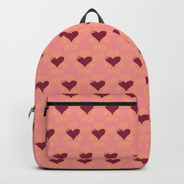 Hearts Seamless Pattern 053#001 Backpack