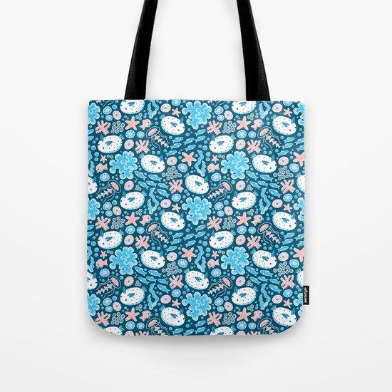 Sea Bunnies Tote Bag