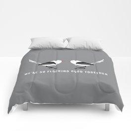 Flocking Good Comforters