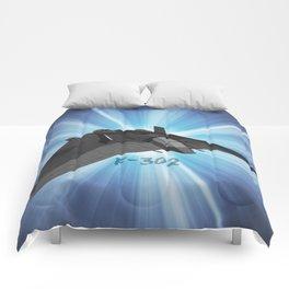 F-302 design 2 Comforters