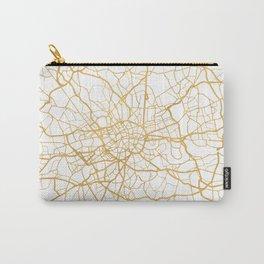LONDON ENGLAND CITY STREET MAP ART Carry-All Pouch
