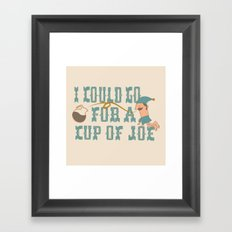 Cup o' Joe Framed Art Print
