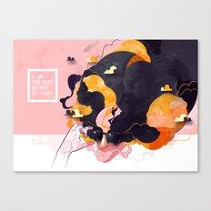 No Human Canvas Print