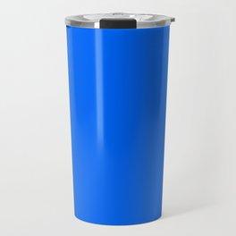 Unfinished ~ Bright Blue Travel Mug
