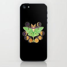 Lunar Moth iPhone & iPod Skin