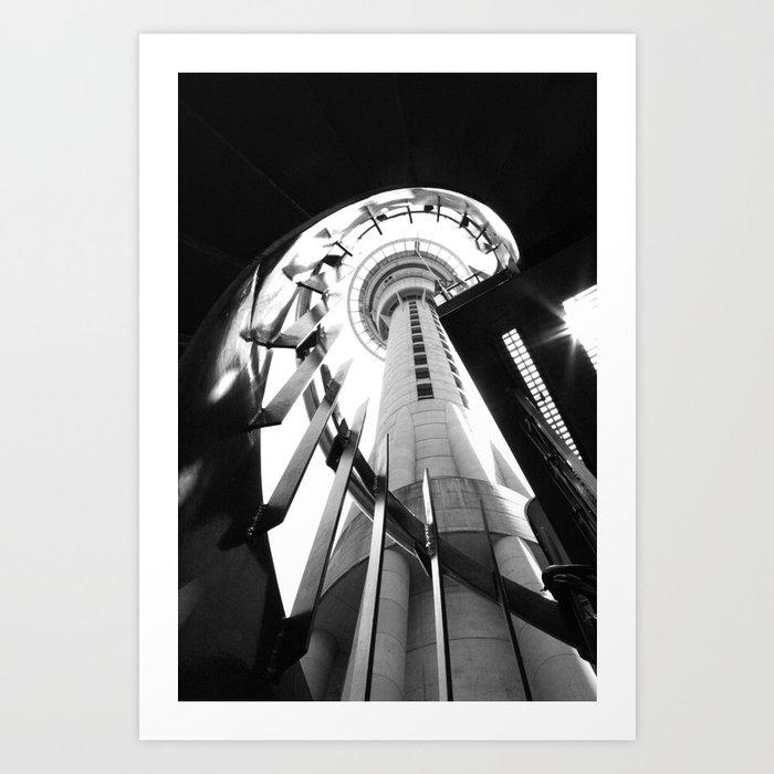Skytower Art Print