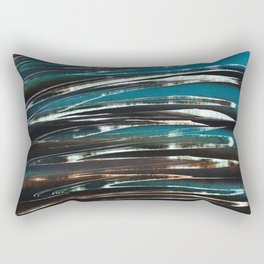 Wave Abstract Rectangular Pillow
