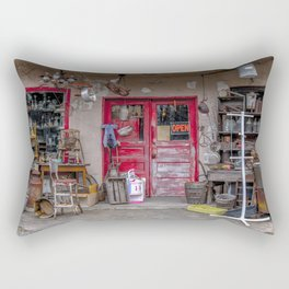 Antique Store Rectangular Pillow