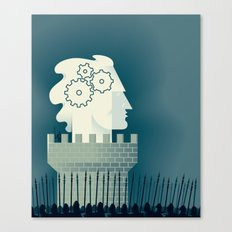 Defending Intellectual Property Canvas Print