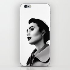 Lily Collins iPhone & iPod Skin