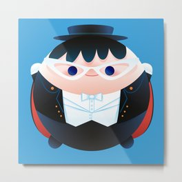 Too Much Candy Series - Tuxedo Mask Metal Print