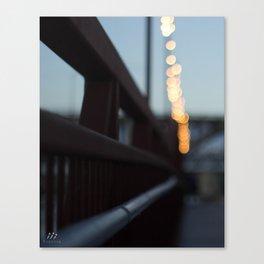 Sunset Boardwalk Canvas Print