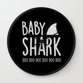 Baby Shark Wall Clock