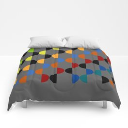 Abstract Composition 401 Comforters