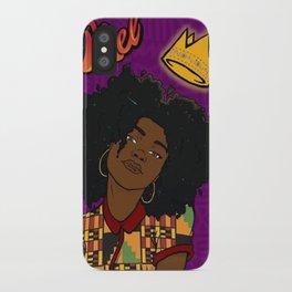 Melanin Melanie iPhone Case