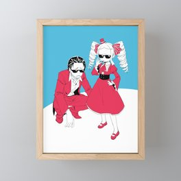 Re Zero - Subara and Beatrice Framed Mini Art Print