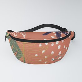 Abstract Jungle Fanny Pack