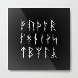 Futhark II Metal Print