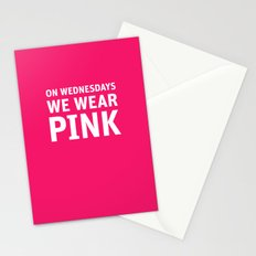 Mean Girls #11 – Pink Wednesday Stationery Cards