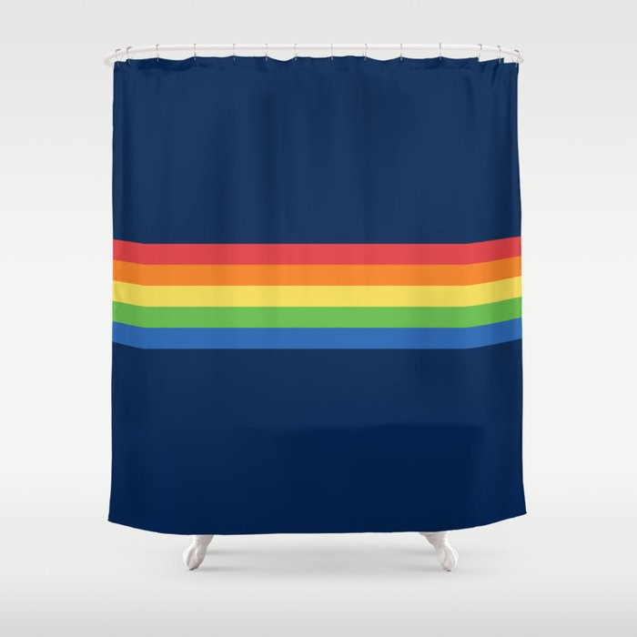 Vintage T-shirt No3 Shower Curtain